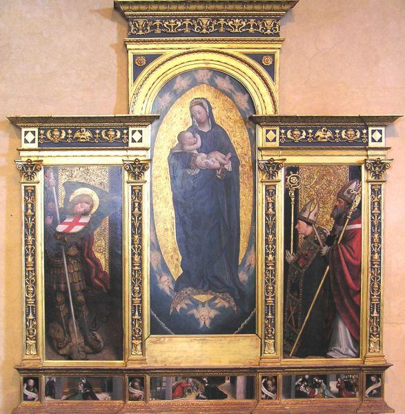 DF Sacra trittico