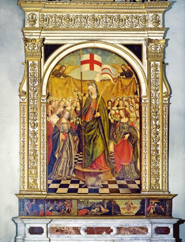 Gerolamo Giovenone, Sant'Orsola e le vergini