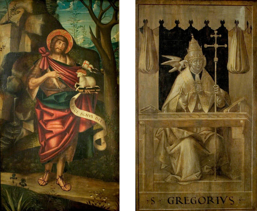 Ferrari, Defendente, 1480-1485-c.1540; Saint John the Baptist in the Wilderness
