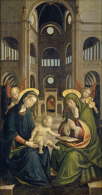 Rijksmuseum-Defendente_Ferrari_-_Anna_te_Drieën