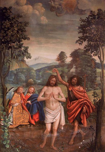 Torino, Museo Diocesano, Battesimo di Gesu